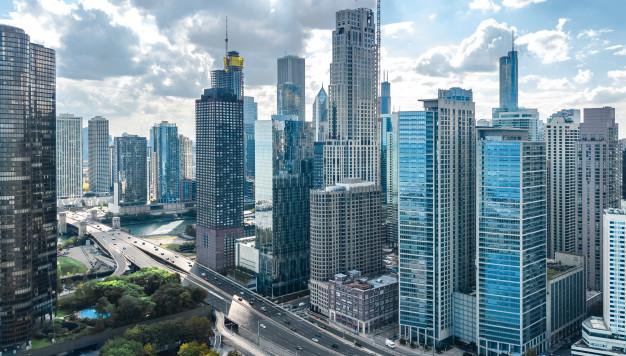 پیمانکار نما . اجرای نما در ساختمان های بلند
