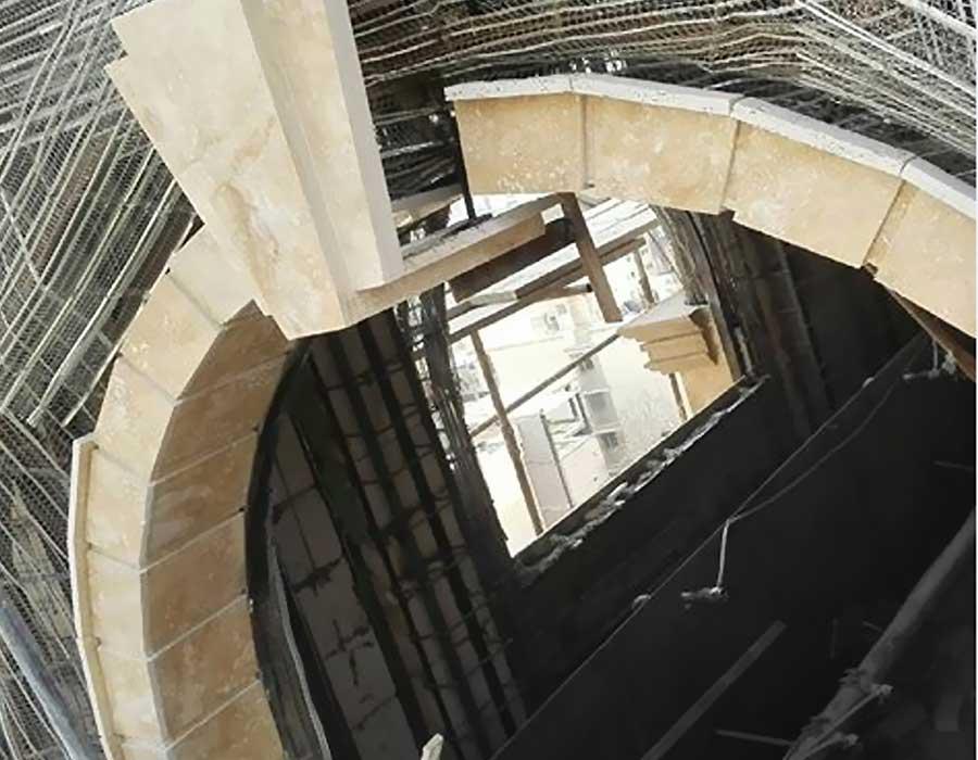 پیمانکار نما . زیر سازی در اجرای نمای ساختمان