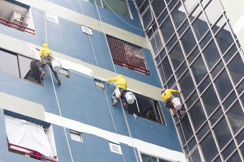وظایف پیمانکار نما در اجرای نمای مدرن ساختمان