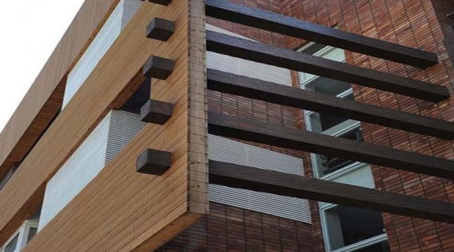 پیمانکار نما . دلایل استفاده از چوب پلاست در اجرای نمای ساختمان ها . اجرای نما