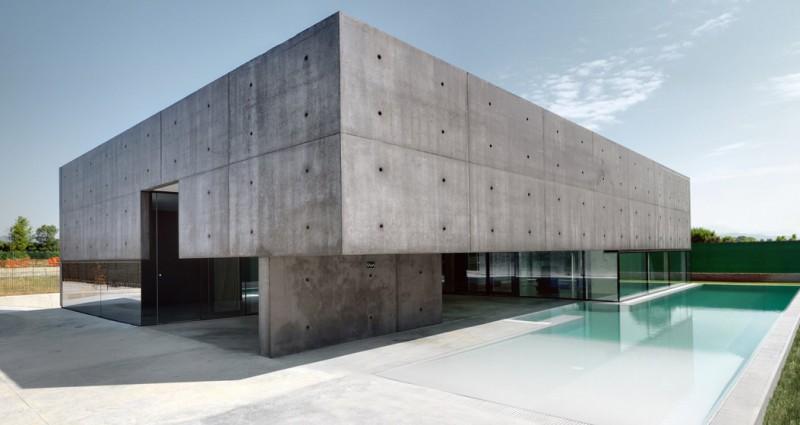 جدیدترین نمای ساختمان سال 99 ، بتن اکسپوز یکی از خاص ترین نما ساختمان سال 99