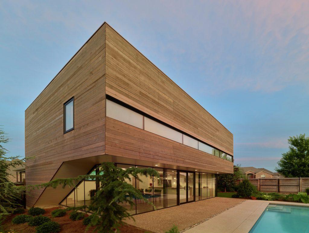 مراحل اجرای نمای چوبی ساختمان