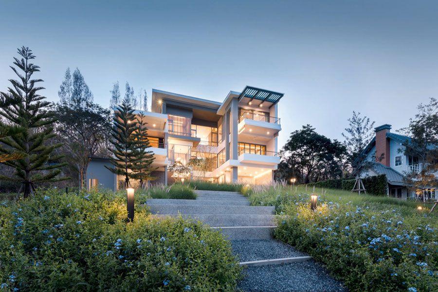 اجرای نمای ساختمان به سبک مینیمال